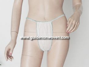 Sexy Girls T-back Underwear For Nonwoven Product
